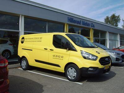 Tillykke med den nye bil Ford Transit Custom Trend
