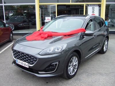 Tillykke med den nye bil Ford Kuga PHEV Vignale