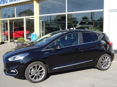 Tillykke med den nye bil Ford Fiesta Vignale