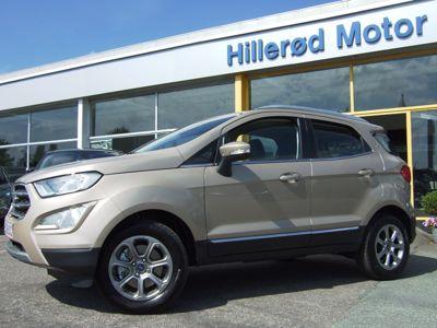 Tillykke med den nye bil Ford EcoSport Titanium