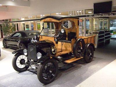 En sjælden gæst i Hillerød - Ford T 1926