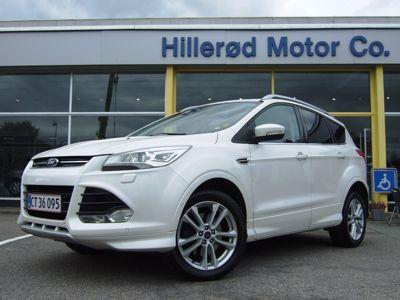 Tillykke med den nye bil Ford Kuga 4x4 Titanium+