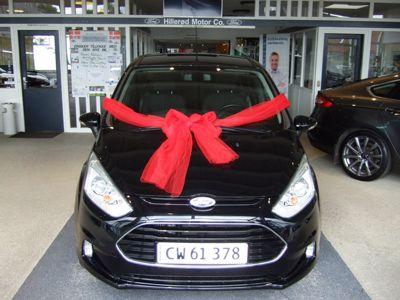 Tillykke med den nye bil Ford B-Max Titanium