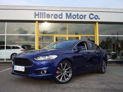 Tillykke med den nye bil Ford Mondeo Titanium-RS