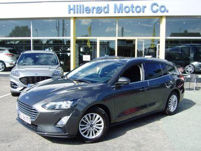 Tillykke med den nye bil Ford Focus Titanium