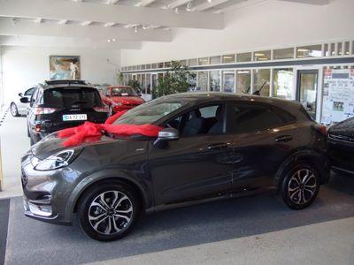 Tillykke med den nye bil Ford Puma ST-Line