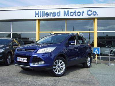 Tillykke med den nye bil Ford Kuga Titanium