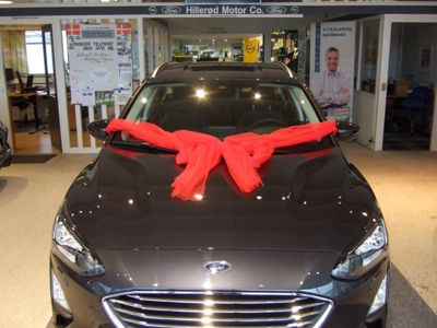 Tillykke med den nye bil Ford Focus mHEV Titanium Stationcar