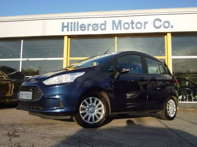 Tillykke med den nye bil Ford B-Max Trend