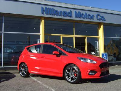 Tillykke med den nye bil Ford Fiesta ST-Line