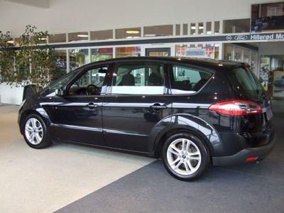Tillykke med den nye bil Ford S-Max 7-sæder Powershift