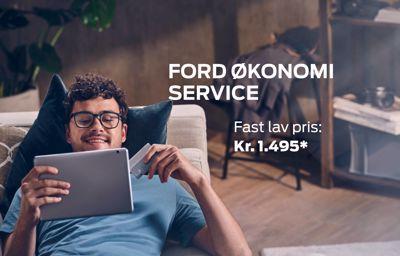 FORD ØKONOMI SERVICE KUN 1.495 KR.