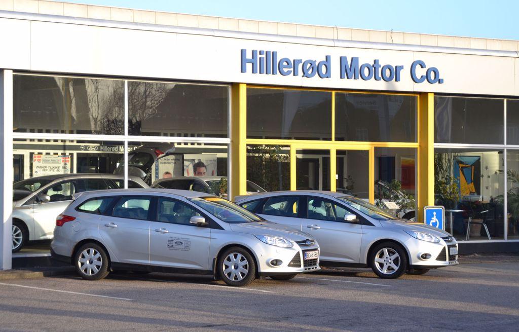 Biludlejning hos Hillerød Motor Co.