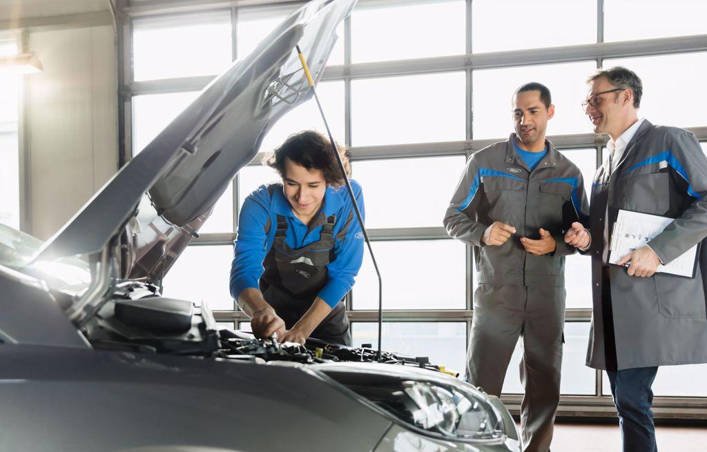 Ford autoriseret reparatør værksted