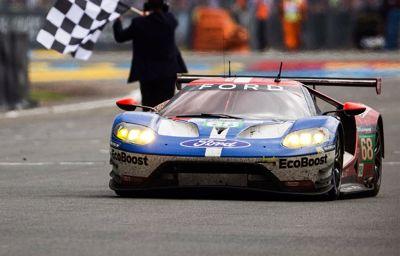 Historisk jubilæumssejr til Ford ved årets Le Mans