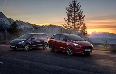 Ford sætter strøm til familiefavoritterne S-MAX og Galaxy Hybrid