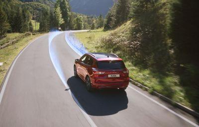 Som at have øjne i nakken: Kugas nye sikkerhedsteknologier roses af Euro NCAP