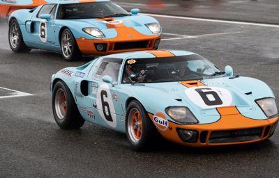 Ford gengiver GT40's spektakulære Le Mans-sejr fra 1969