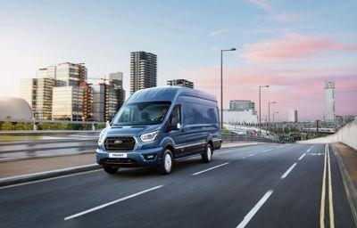 Ford Transit får 10-trins automatgear