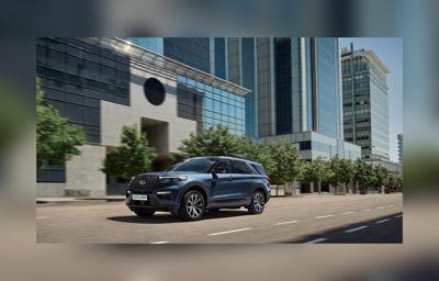 7-sæders luksus og offroad-råstyrke: Ford Explorer Plug-in Hybrid kan det hele