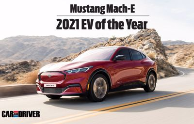 Ford Mustang Mach-E kåret til årets elbil af magasinet 'Car and Driver'