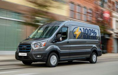Kunder tester Fords nye elektriske varebil