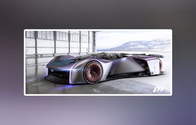 Fordzilla afslører designet på Project P1 – et unikt samarbejde mellem Ford og gamere