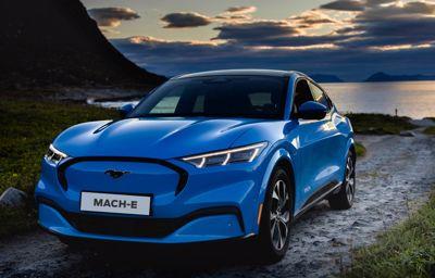 Ford Mustang Mach-E scorer topkarakterer i sikkerhed med fem stjerner i Euro NCAP
