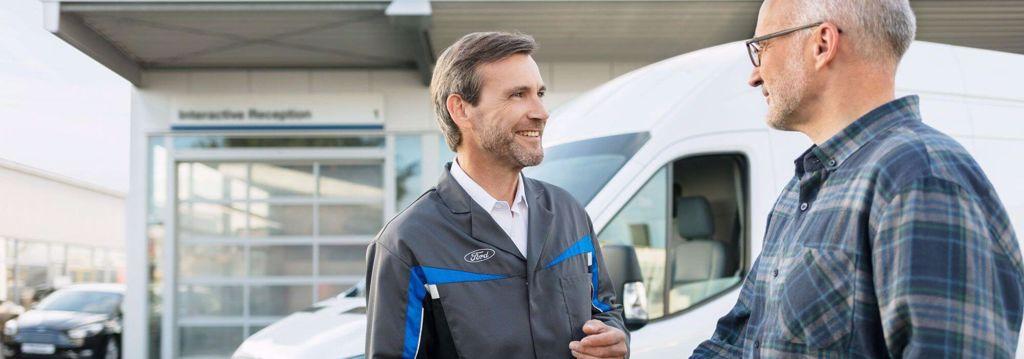 Ford Prismatch på reparationer og serviceeftersyn hos Ford værksted
