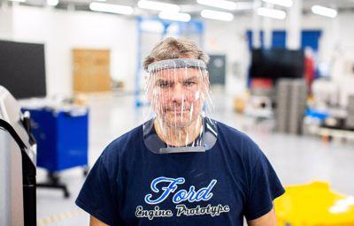 Ford producerer ansigtsmasker og respiratorer i samarbejde med 3M og GE Healthcare