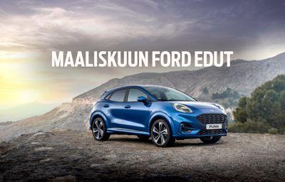 Auto-Killasta 500 € polttoainelahjakortti erään Ford -malleja