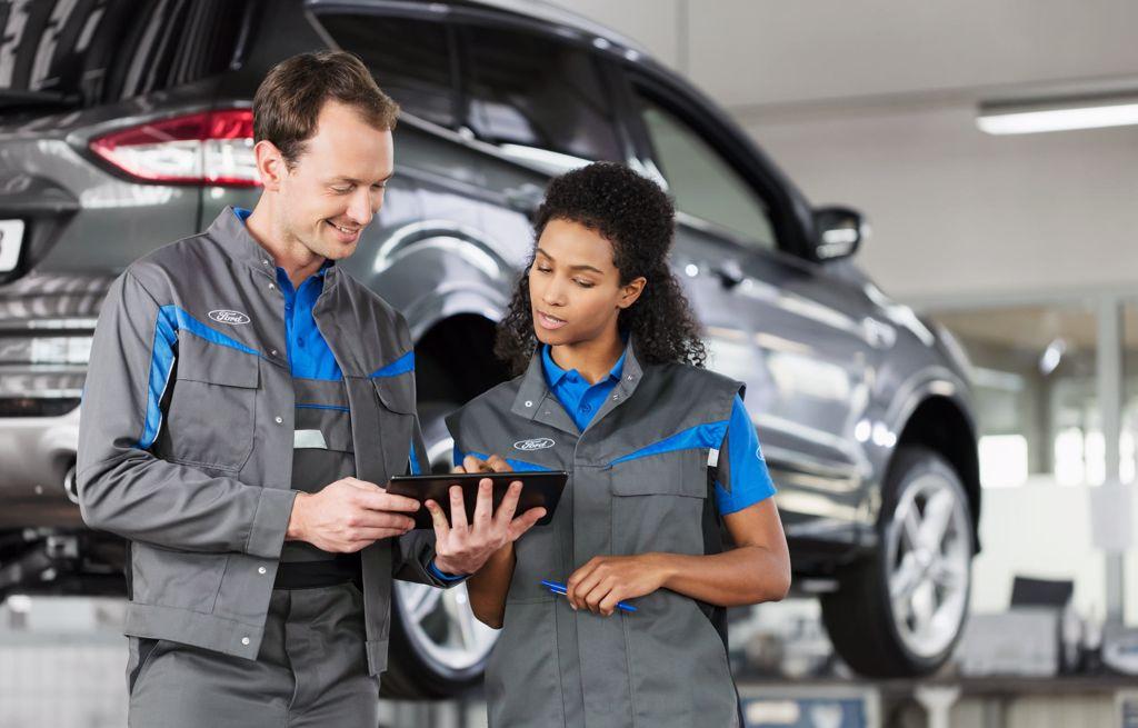 Automaa Vaasa huoltaa kaiken ikäiset Fordit ammattitaidolla
