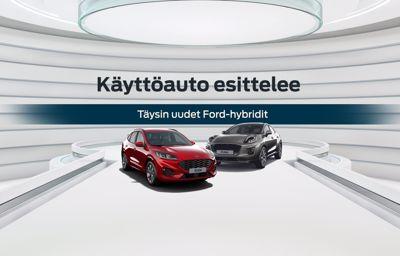 Tule koeajamaan täysin uudet Ford-hybridit