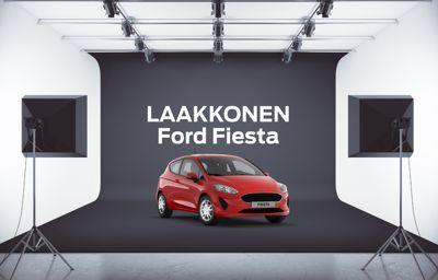 Suosittu **Ford Fiesta** Laakkosen FiksuDiilillä alk. 189 €/kk