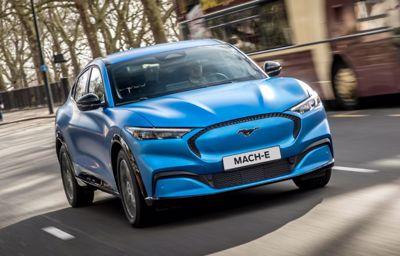 Uusi sähköinen Mustang Mach-E