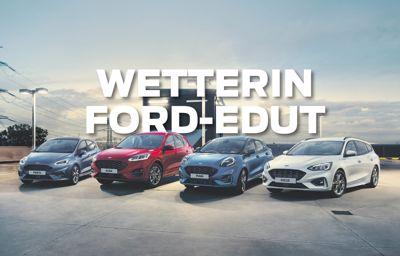 Ford henkilöautomallistoon talvirenkaat nyt vain 690€