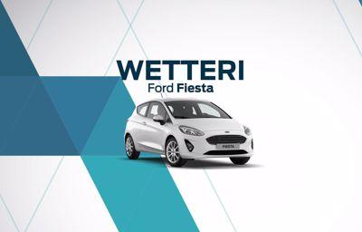 Erä Ford Fiesta varastoautoja huippueduin Kajaanin Wetteriltä