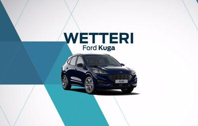 Ford KUGA-malleihin latausasema kaupan päälle.