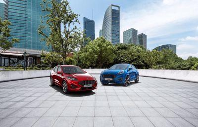 Tule koeajamaan täysin uusi Ford Kuga ja Ford Puma