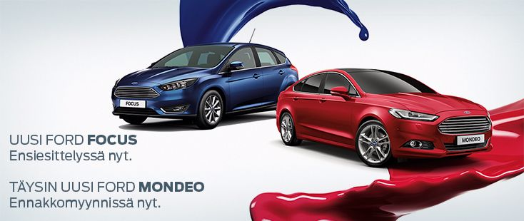 Uusi Ford Mondeo
