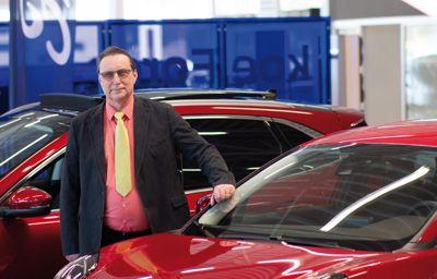 40 vuotta autokauppaa Levorannassa