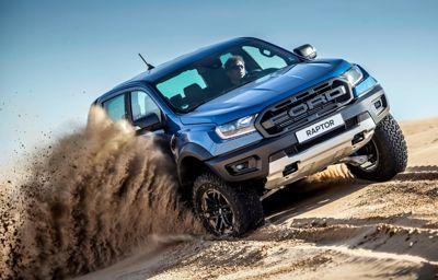 Fordin WRC-kuskit valloittavat metsätien Ranger Raptorilla