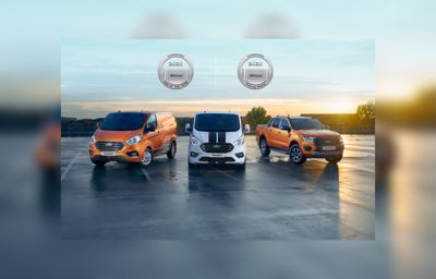 Fordille tuplavoitto International Van of the Year- ja International Pick-Up Award -kisoissa