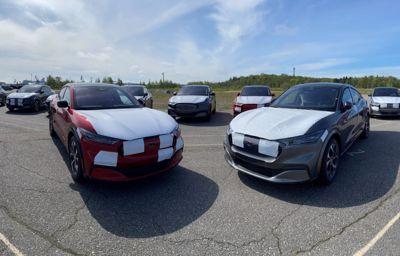 Ford Mustang Mach-E -mallien toimitukset käynnistyvät Suomessa