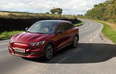 Uusi Ford Mustang Mach-E Norjan myydyin automalli toukokuussa