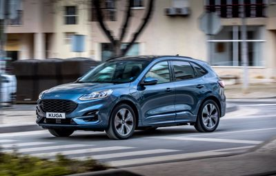 Ford Kuga ladattava hybridi (PHEV) on Euroopan myydyin ladattava hybridimalli