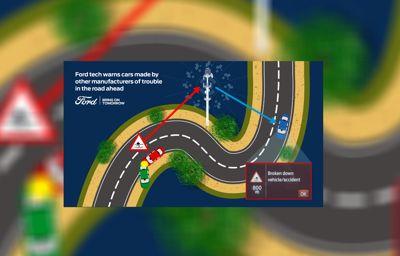 Ford auttaa lisäämään liikenneturvallisuutta jakamalla autoista saatavaa tietoa muiden autonvalmistajien kanssa