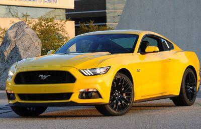 Täysin uuden 2015 Ford Mustangin tuotanto on alkanut