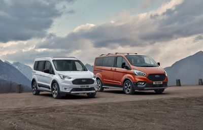 Ford Tourneo Connect Active ja Transit Connect Active*