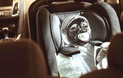 Ford Tech auttaa, jotta lapsia ei jätetä kuumiin autoihin